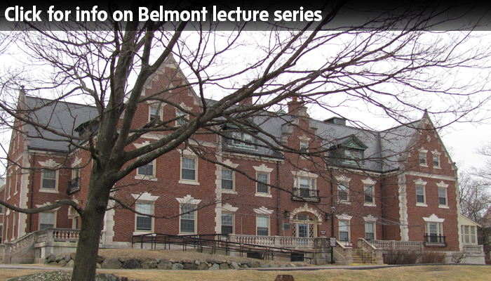 Belmont Lecture Series