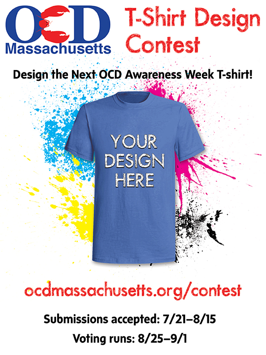 OCD MA T Shirt Contest